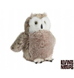Living Nature Knuffel Uil groot