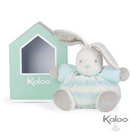 Kaloo Bebe Pastel Knuffel Konijn Bebe Pastel blauw-wit