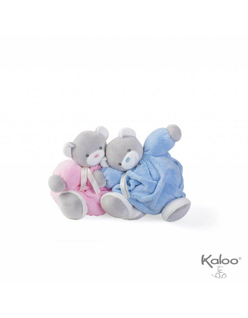 Kaloo Plume Kaloo Plume - Knuffelbeer blauw middelgroot