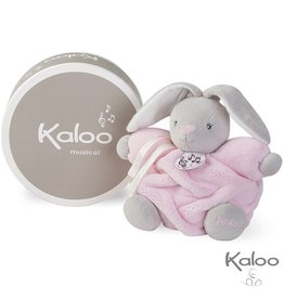 Kaloo Plume Knuffel Konijn Roze met muziek