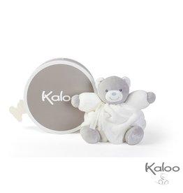 Kaloo Plume Knuffelbeer wit, 18 cm