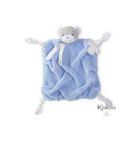 Kaloo Plume Kaloo Plume - knuffeldoekje beer blauw