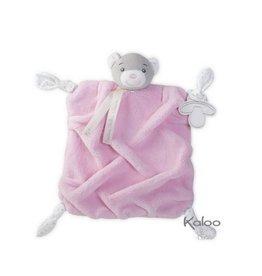 Kaloo Plume Kaloo Plume -  knuffeldoekje beer roze