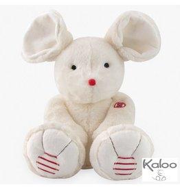 Kaloo Rouge Knuffel Muis groot wit