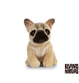 Living Nature Knuffel Franse Bulldog, 24 cm