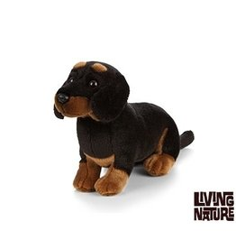Living Nature Teckel Knuffel Hond