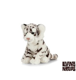Living Nature Knuffel Tijger Wit