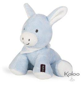Kaloo Les Amis Knuffel Ezel Blauw, 25 cm