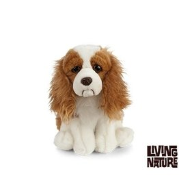 Living Nature King Charles Cavalier Knuffel, 24 cm