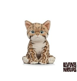 Living Nature Knuffel Kat Bengal Kitten