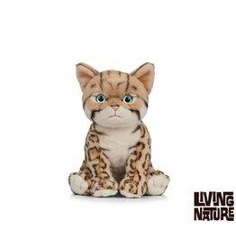 Living Nature Knuffel Kat Bengal Kitten