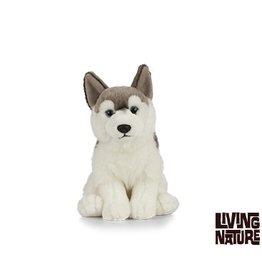 Living Nature Husky Knuffel, 24 cm