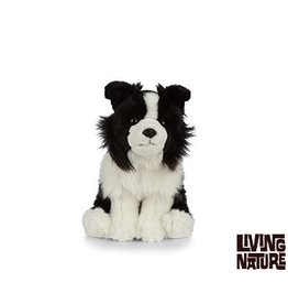 Living Nature Border Collie Knuffel, 24 cm