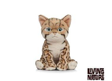 Living Nature Knuffel Kat