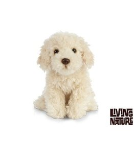 Living Nature Knuffel Labradoodle, 25 cm