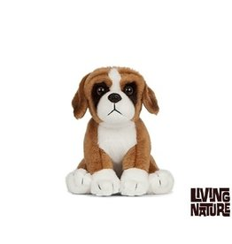 Living Nature Hond Knuffel Boxer, 15 cm