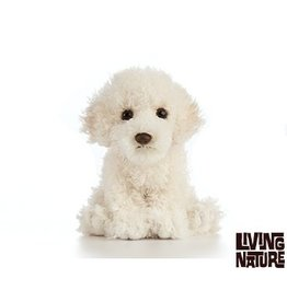 Living Nature Knuffel Labradoodle, 15 cm