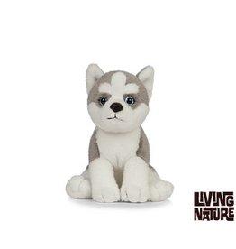 Living Nature Knuffel Husky 15 cm