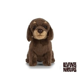 Living Nature Knuffel Teckel, 15 cm