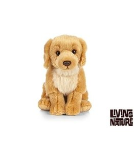 Living Nature Golden Retriever Knuffel, 24 cm