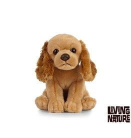 Living Nature Knuffel Cocker Spaniel, 15 cm