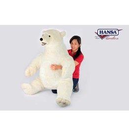 Hansa Knuffel IJsbeer 92 cm