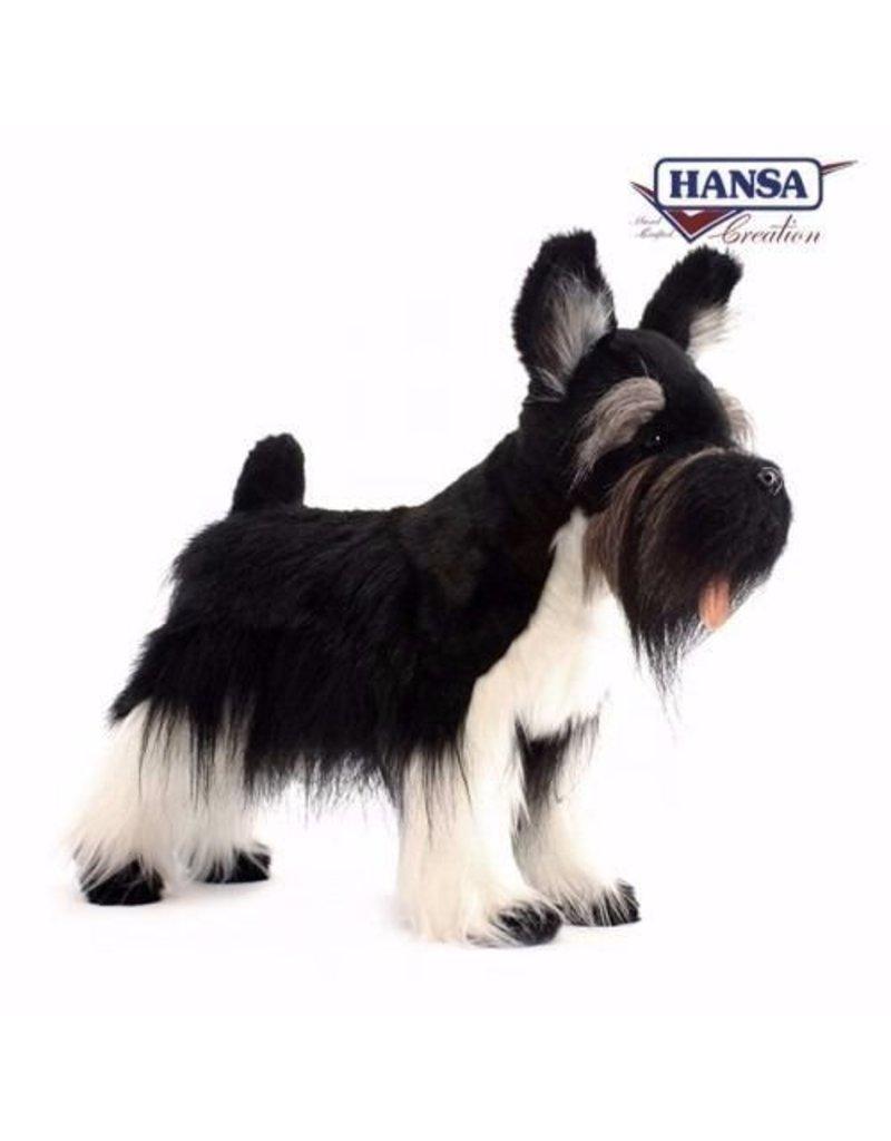 Hansa Schnauzer Knuffel, 45 cm, Hansa