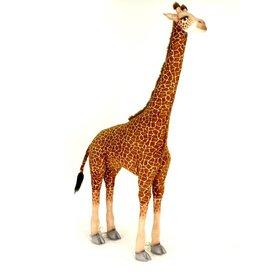 Hansa Grote Giraffe Knuffel, 200 cm, Hansa