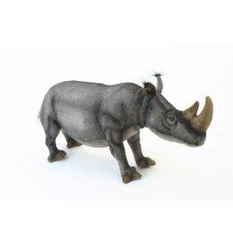 Hansa Witte Neushoorn Knuffel, 55 cm, Hansa