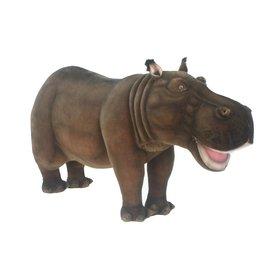 Hansa Grote Knuffel Nijlpaard, 170 cm, Hansa