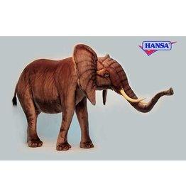 Hansa Grote Olifant Knuffel, 178 cm, Hansa