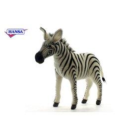 Hansa Zebra Knuffel, 41 cm, Hansa
