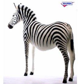 Hansa Grote Knuffel Zebra, 178 cm Hansa