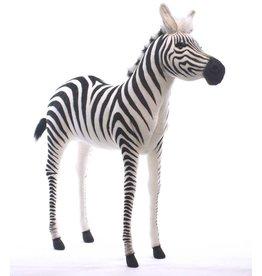 Hansa Zebra Knuffel, 130 cm, Hansa