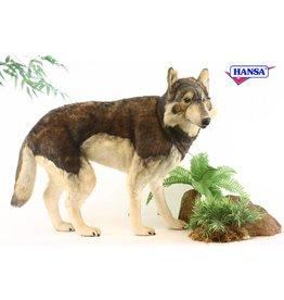 Hansa Grote Knuffel Wolf, Hansa