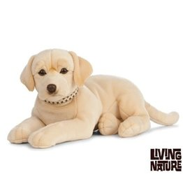 Living Nature Giant Labrador Knuffel groot blond, 60 cm