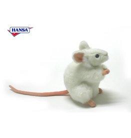 Hansa Knuffel Muis wit, Hansa