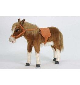 Hansa Pony knuffel met dekje, 70 cm