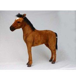 Hansa Knuffel Paard bruin (S) 110 cm, Hansa