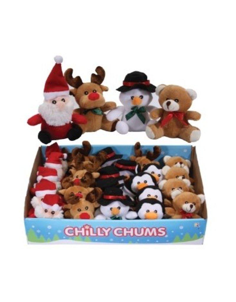 Onwijs Kerst Knuffels klein, 24 stuks, Living Nature - Knuffelkadoos.com TN-88