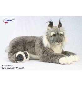 Hansa Lynx Knuffel, 70 cm, Hansa