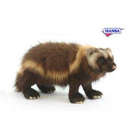 Hansa Wolverine Knuffel, 50 cm, Hansa