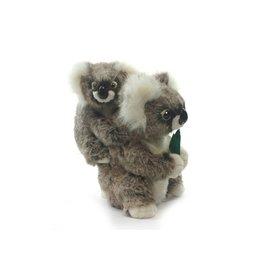 Hansa Koala met Baby 28 cm, Hansa