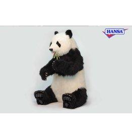 Hansa Panda Beer Zittend 130 cm, Hansa