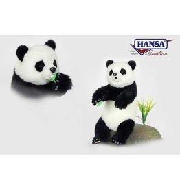 Hansa Knuffel Panda 34cm, Hansa