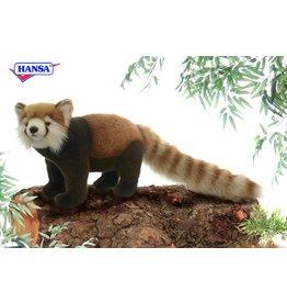 Hansa Rode Panda Staand 32 cm, Hansa