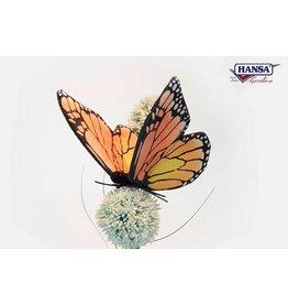 Hansa Pluche Vlinder Oranje, Hansa