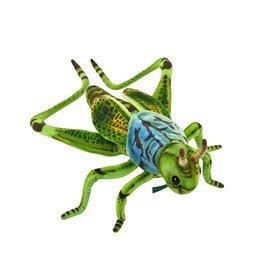 Hansa Pluche sprinkhaan groen, Hansa