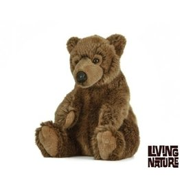 Living Nature Bruine Beer Bruin, 25 cm, Living Nature