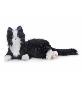 Hasbro Interactieve Kat voor ouderen, zwart met wit